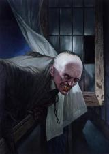 Croglin Vampire by Les Edwards